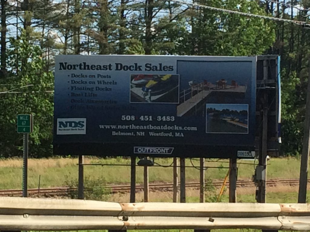 Northeast Aluminum Docks_Laconia-NH-Billboard