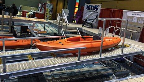 Northeast Dock Sales Aluminum Docks Swimming Platforms